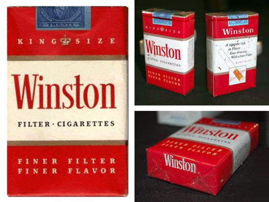 Winston pack 1954