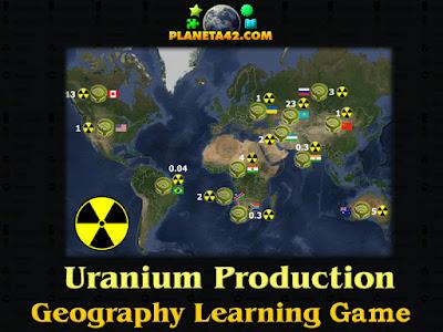 Световно Производство на Уран