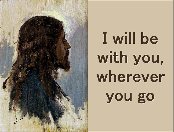 I Will be With You Wherever You Go - Markland | GodSongs net