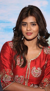 Actress Heba Patel Latest Stills in Red Dress at Mister Movie Trailer Launch Event  0003.jpg