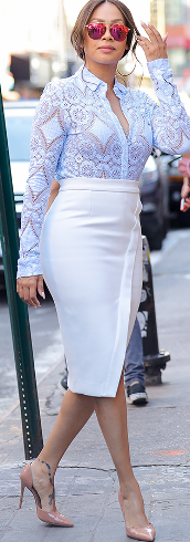 La La Anthony was a picture of perfection as she stepped out in NYC (photos)