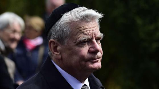 Gauck meint, dass die Deutschen an dem Terrorismus schuld sind