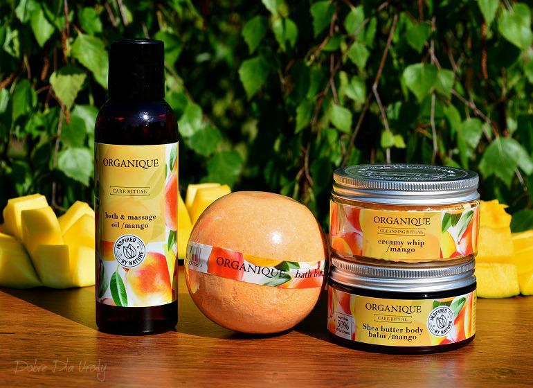 Nowy Rytuał Organique o zapachu słodkiego mango - pielęgnacja ciała