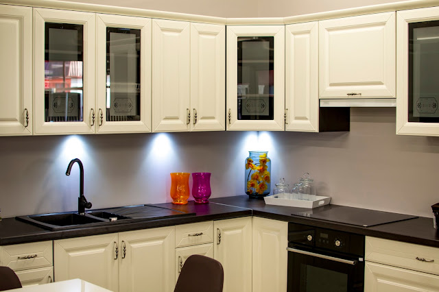 Kitchen Cabinets with Glass New York