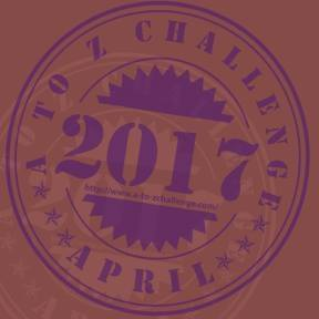 AtoZ blogging challenge Badge 2017