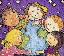 Dibujo alusivo al Día de la Declaración Universal de los derechos del niño a colores