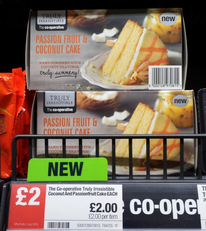 Co Op Truly Irresistible Carrot Cake