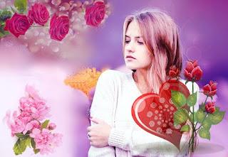 wanita ibarat bunga mawar