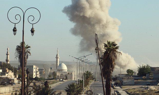 Intensos ataques em Aleppo - MichellHilton.com