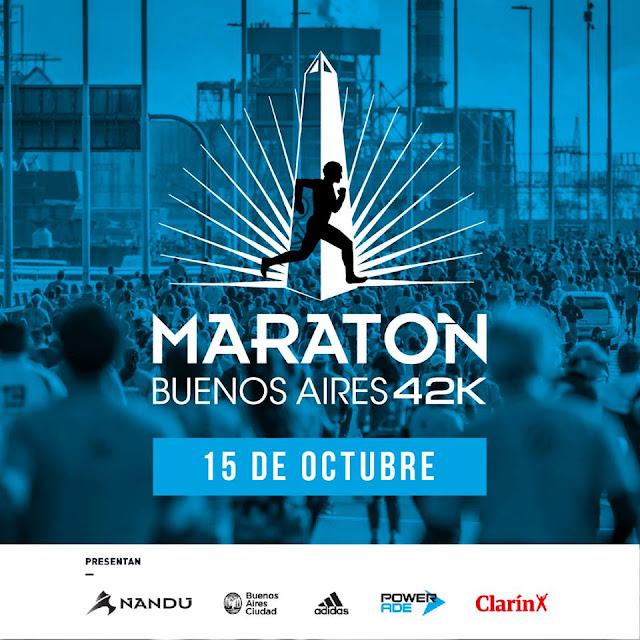 42k Maratón de Buenos Aires (Argentina, 15/oct/2017)