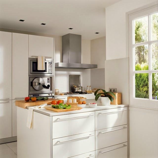 Deco] Ideas para colocar una isla en cocinas pequeñas ...