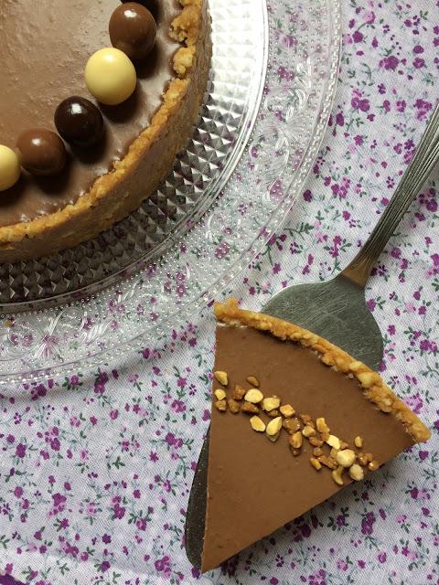 TARTA MOUSSE DE AGUACATE Y CHOCOLATE RECETA