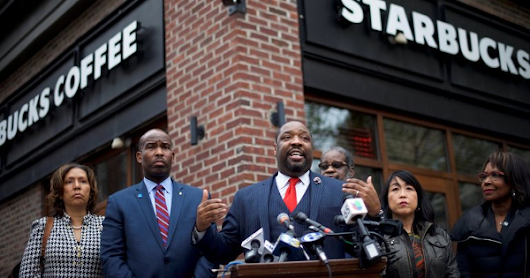 Starbucks Will Close 8,000 Stores For 'Racial Bias Training' After 2 Men Were Arrested In Philly Location + Omega Psi Phi Rallies Around One Of The Arrested Men