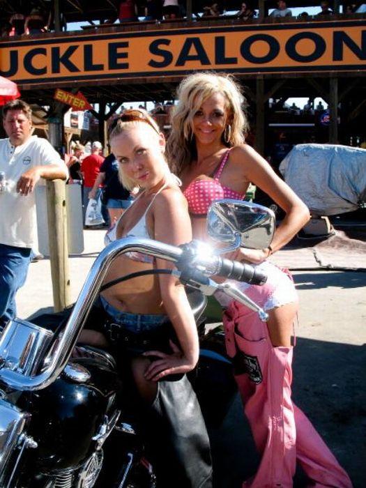 Girls Of Sturgis Motorcycle Rally