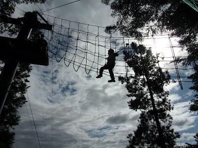 aerial adventure centre parcs longleat