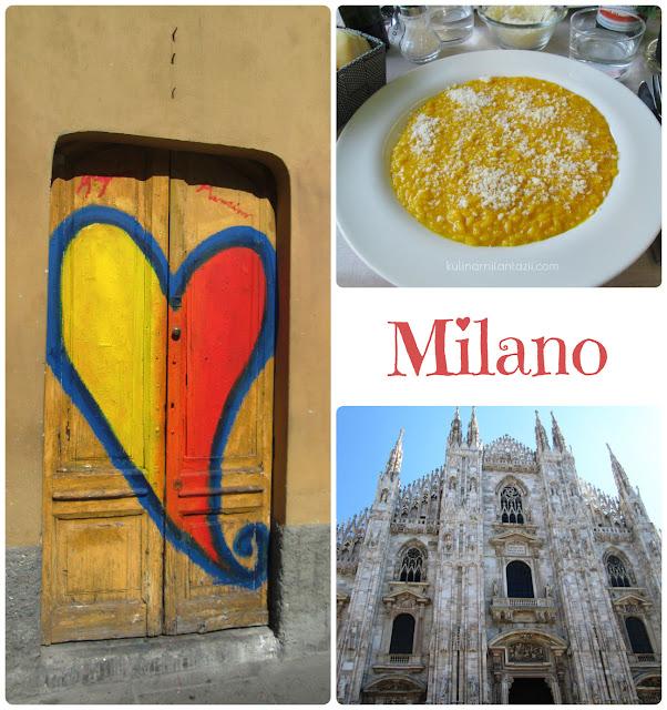 Ризото Миланезе и  разказ за Милано