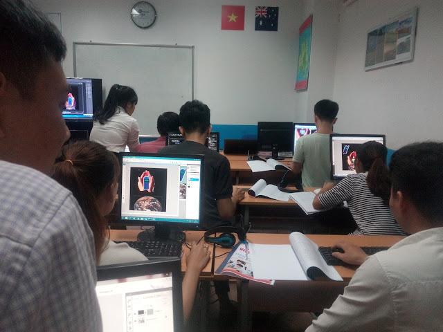 Các học viên trong khóa học php và mysql