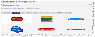 create new tracking histats