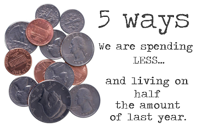 Cooking at Café D: 5 Ways We Are Spending Less (And, living on half the budget of last year.)