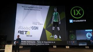 RootedCon 2018 - Eneko Astorquiza - Retos de seguridad en el sector de las apuestas deportivas online