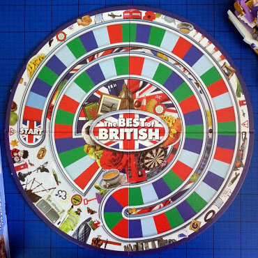 LOGO Best Of British board game for teenagers and adults
