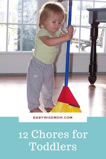 12 Chores Your Toddler Can Do
