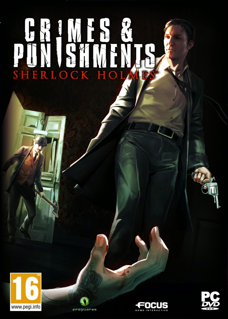 Cover Caratula Crimes and Punishments Sherlock Holmes PC