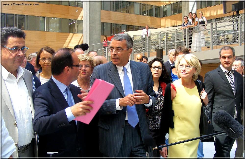 Hollande+Queyranne+Lyon