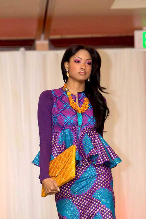 ankara styles skirt and blouse