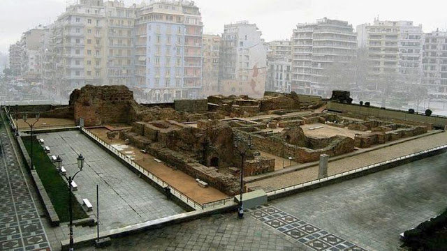 Thessaloniki's Palace of Galerius prepares to reopen to the public