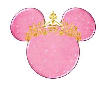 Silueta De La Cabeza De Minnie Con Tiaras Ideas Y