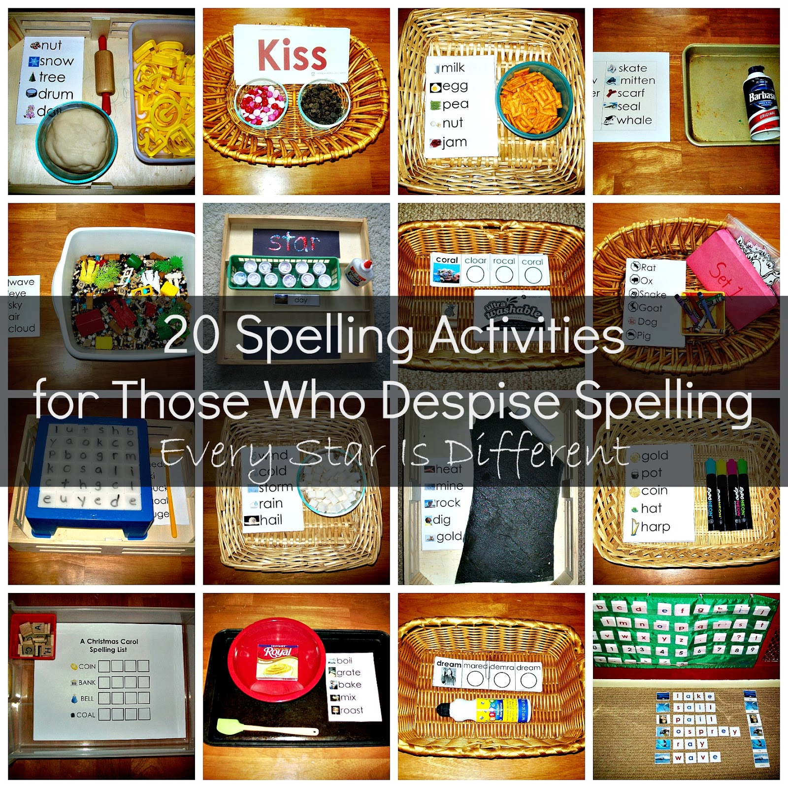 20 Spelling Activities For Those Who Despise Spelling