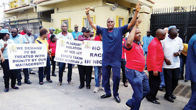 Workers Shut Down ExxonMobil Headquarters For Sacking 860 Nigerian Spy Police