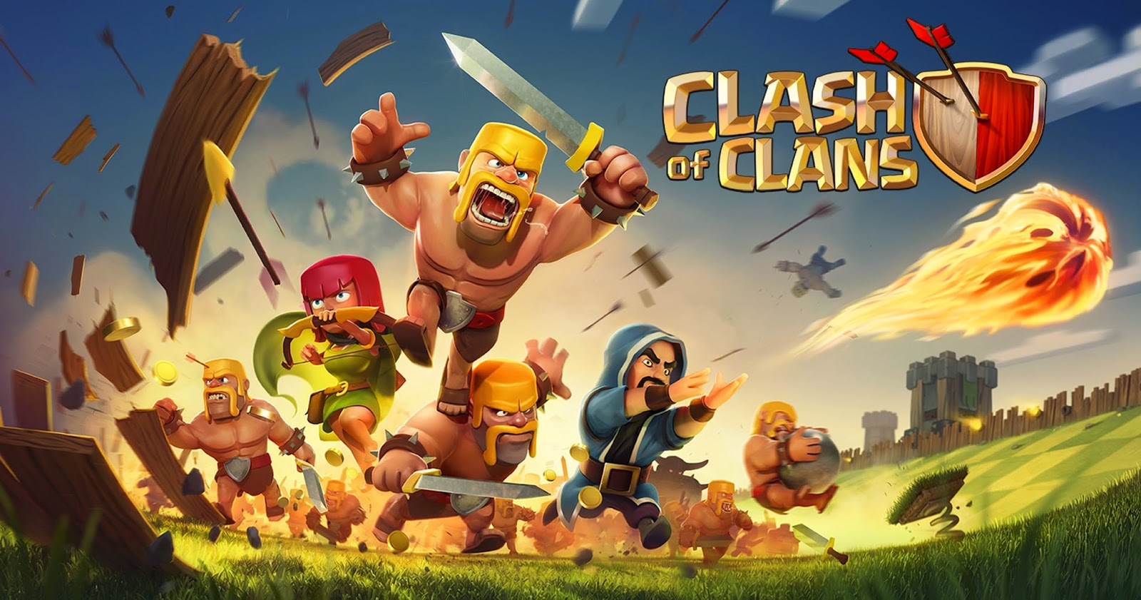 WALLPAPER GAME CLASH OF CLANS Gambar Kartun Lucu Dan Wallpaper