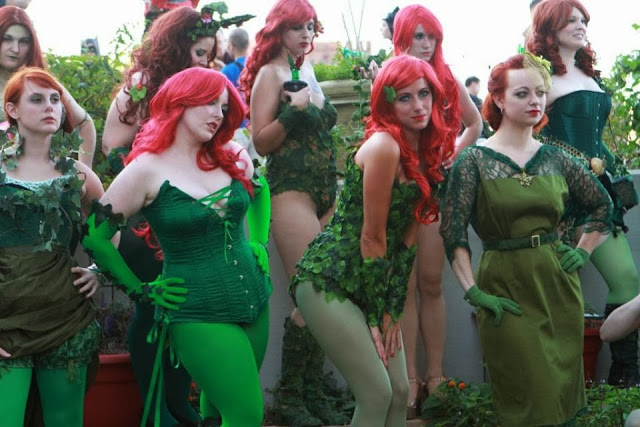 Group of Poison Ivy Girls