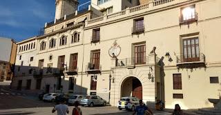 La Casa del Consell en la Plaza Mayor de Ontinyent.