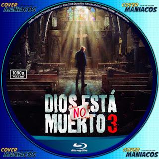 GALLETA DIOS NO MUERTO 3 BLURAY