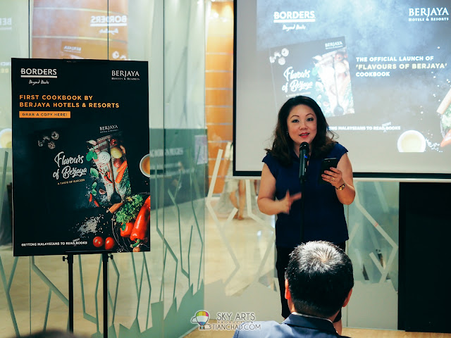 Ms Yau Su Peng (Director of Retail & Innovation of BCorp) at 'Flavours of Berjaya' Cookbook Launch
