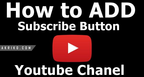 Cara Membuat Tombol Subscribe Pada Pojok Kanan Bawah Video