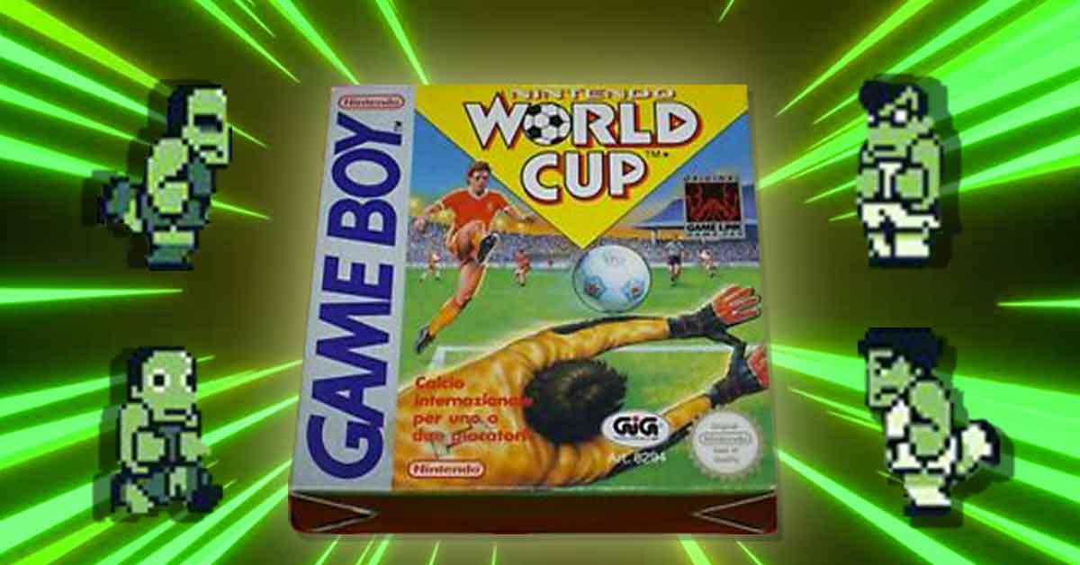 La copertina del mio primo gioco di calcio