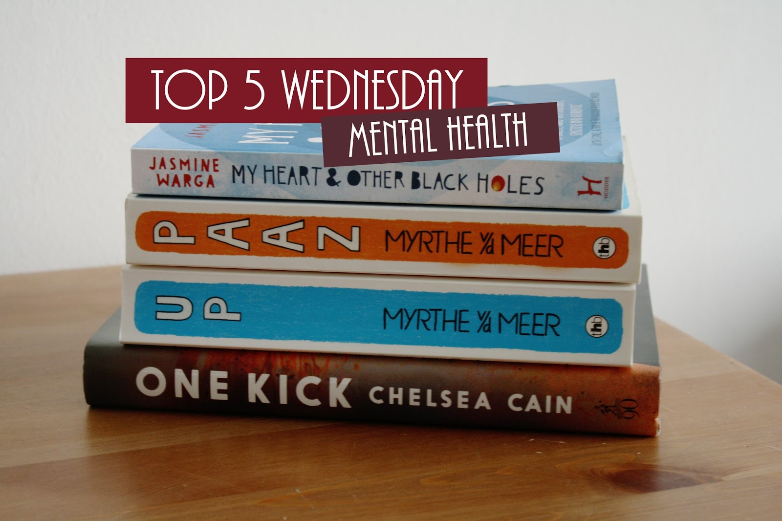 Top 5 Wednesday, Mental Health - thestoryhour.nl