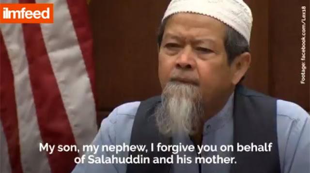 Mengharukan! Sidang Pengadilan Di AS, Ayah Muslim Memaafkan dan Memeluk Pembunuh Anaknya