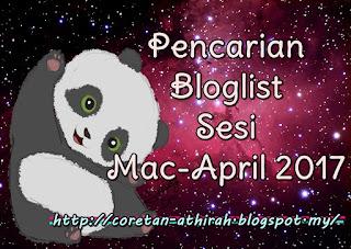 Pencarian Bloglist Sesi Mac-April 2017