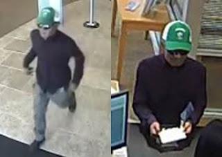 Elk Grove Credit Union Robbed, Police Seek Community's Help Locating Suspect