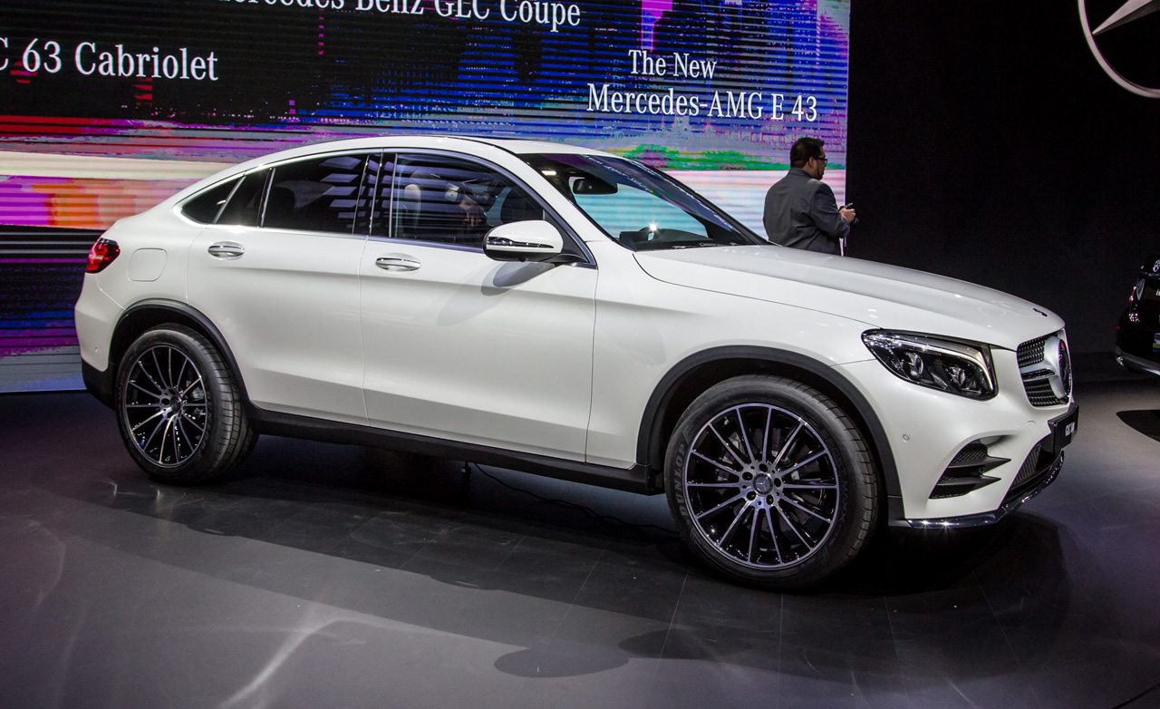 Mercedes benz glc class coupe x4 marks the spot 2017 for Mercedes benz 4x4 2017