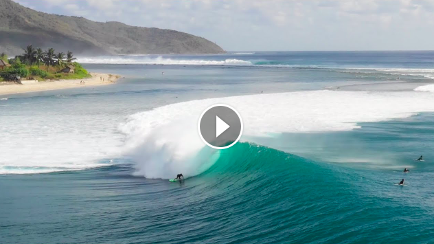 Desert Point During The Best Swell Of The Season So Far July 2019 SURFER Magazine