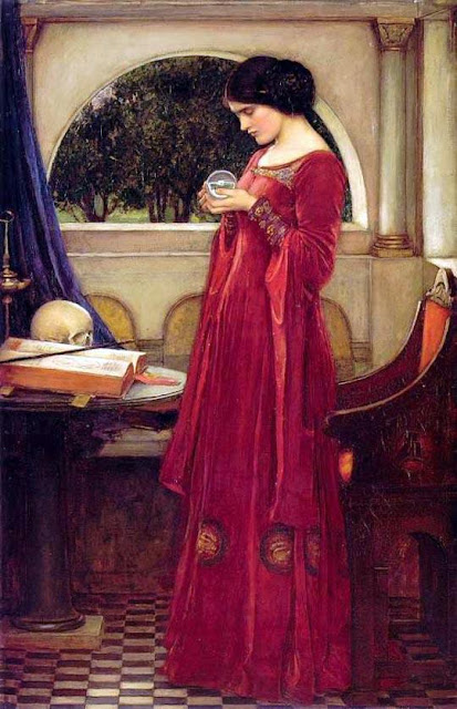 The Crystal Ball (1902) - John William Waterhouse