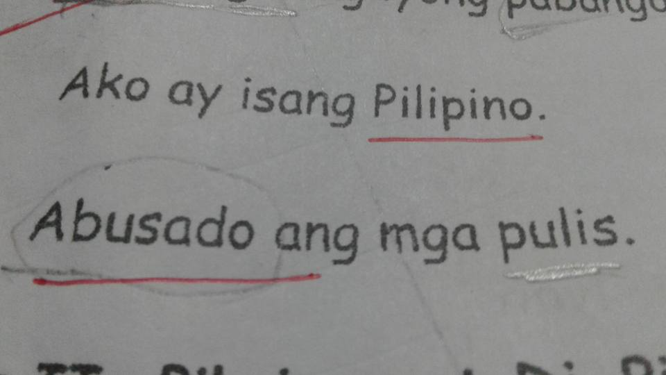 "Parent questions ""disturbing"" EJK questions on Grade 2 test papers"
