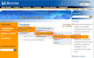 Download Realtek 10 / 100M Fast Ethernet PCI Express for all Windows