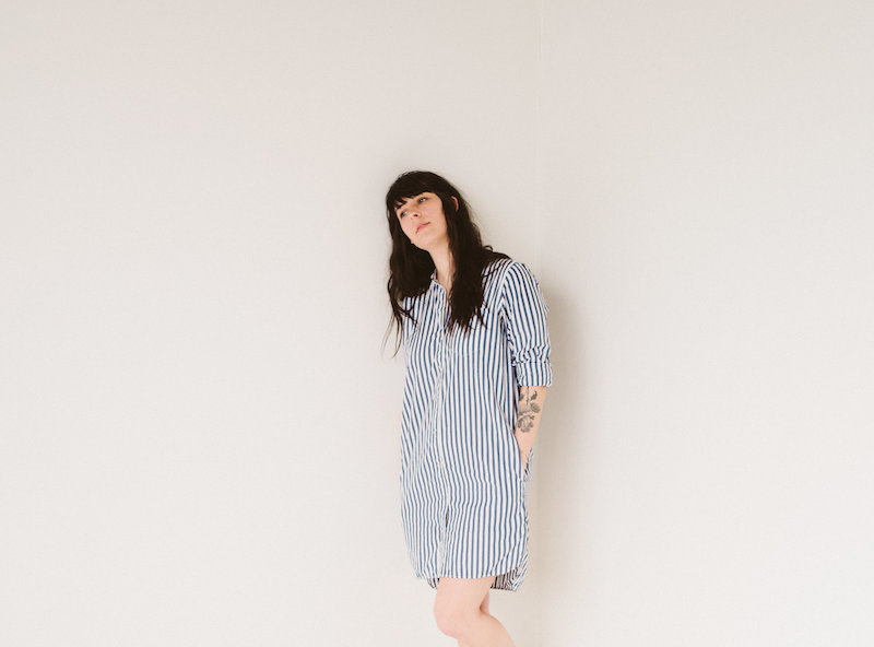Everlane Collarless Shirt Dress - Style Interplay